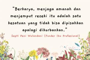 quotes ibu profesional