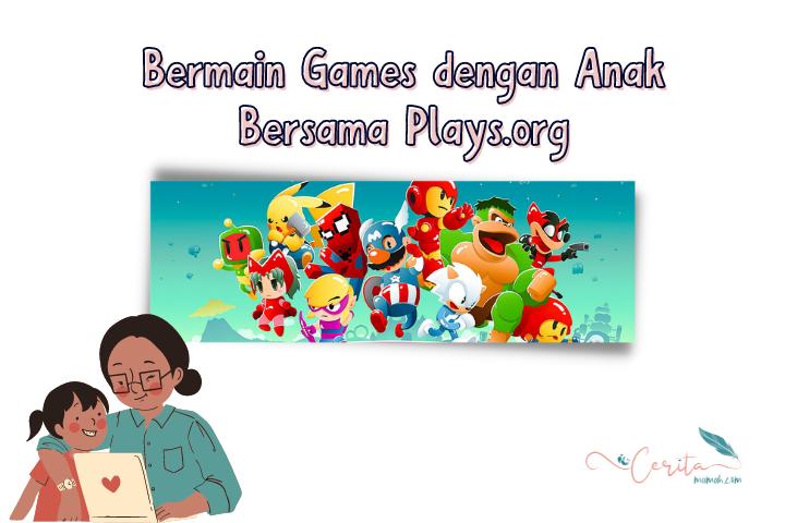 bermain games dengan anak