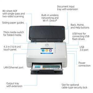scanner hp n7000